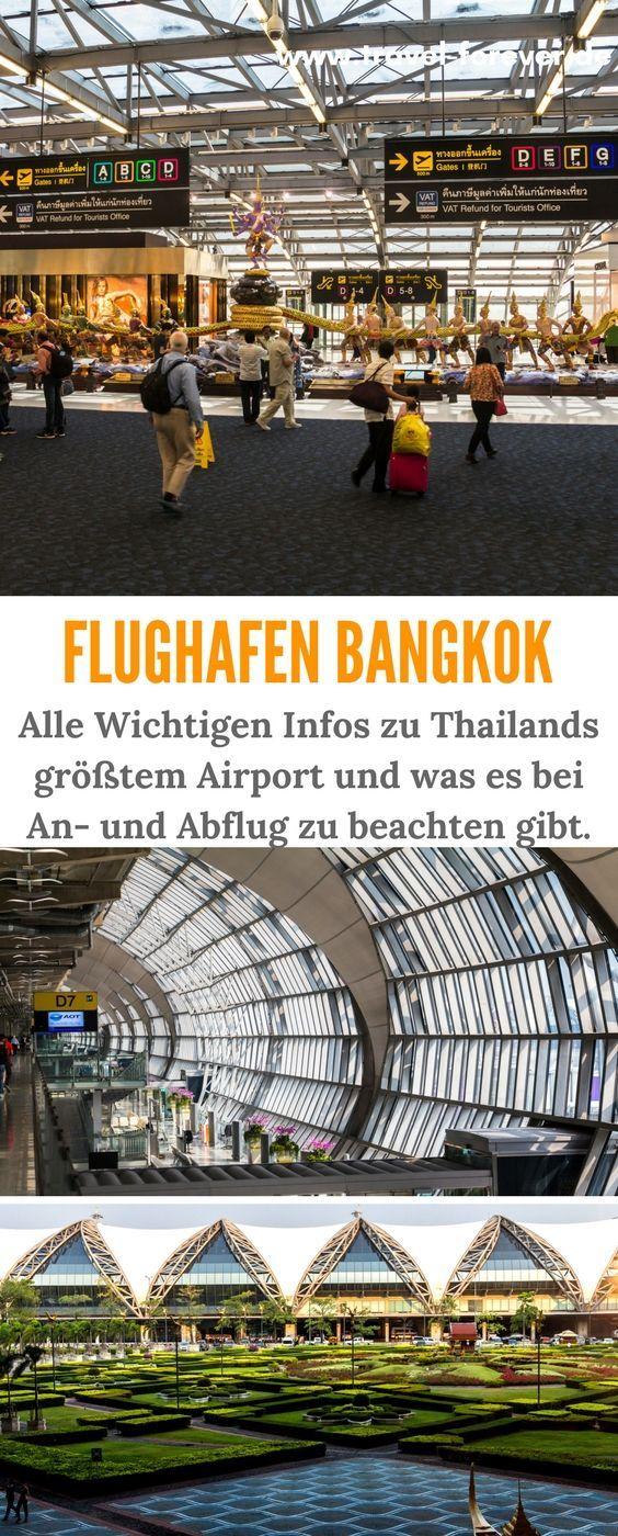 Flughafen Bangkok Alle wichtigen Infos im Überblick