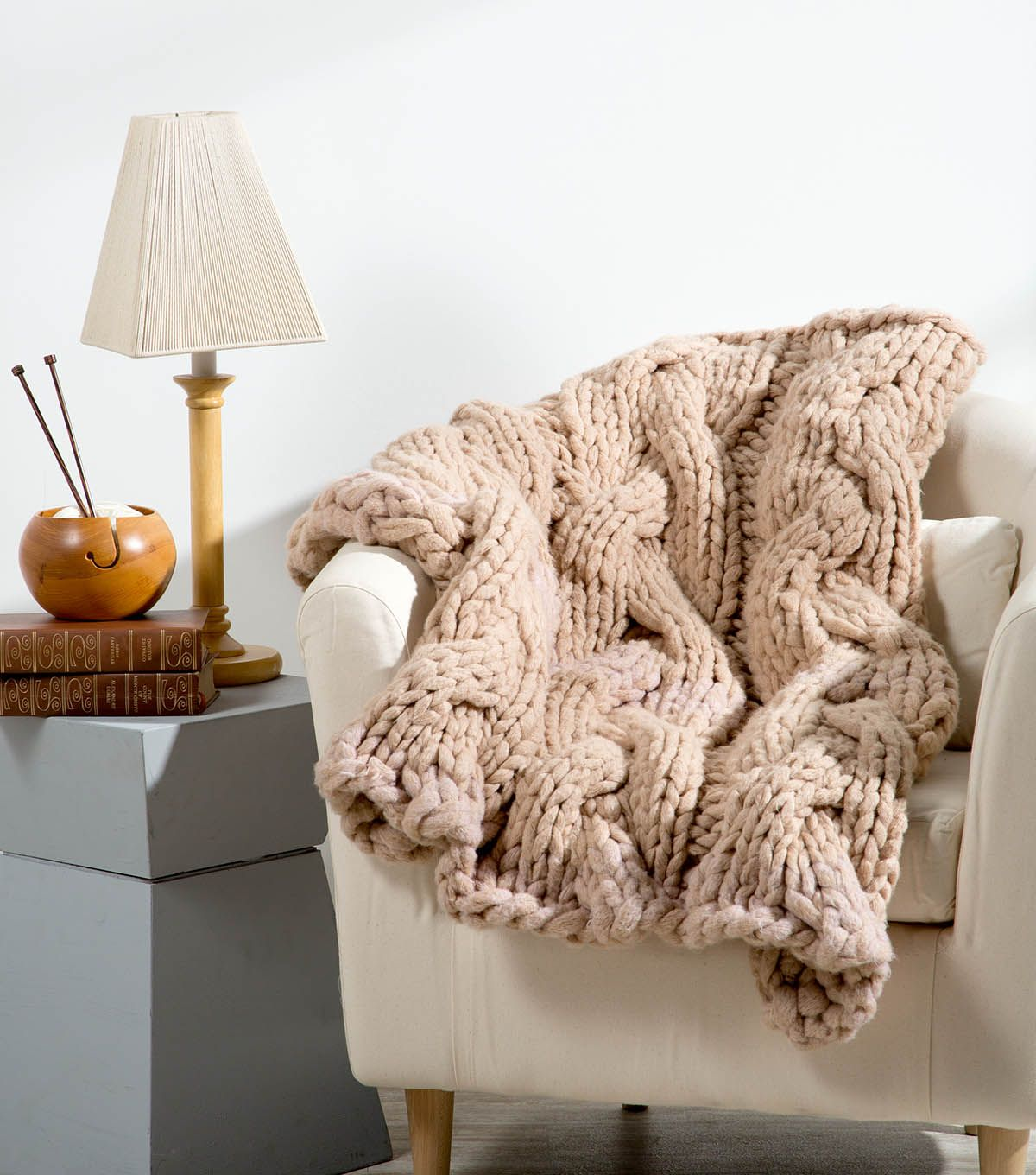 Knit A Hearthside Blanket | Let\'s Knit, or hook... or whatever ...