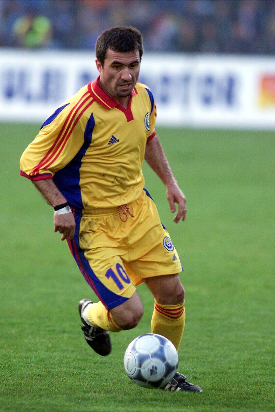 Carpathian Maradona Hagi, he was very very