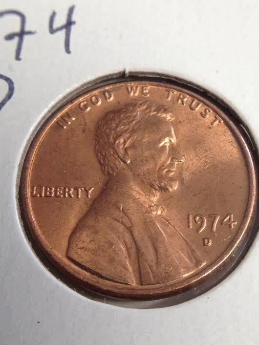 Details about 1974 D Lincoln Penny   Collectible Coins for