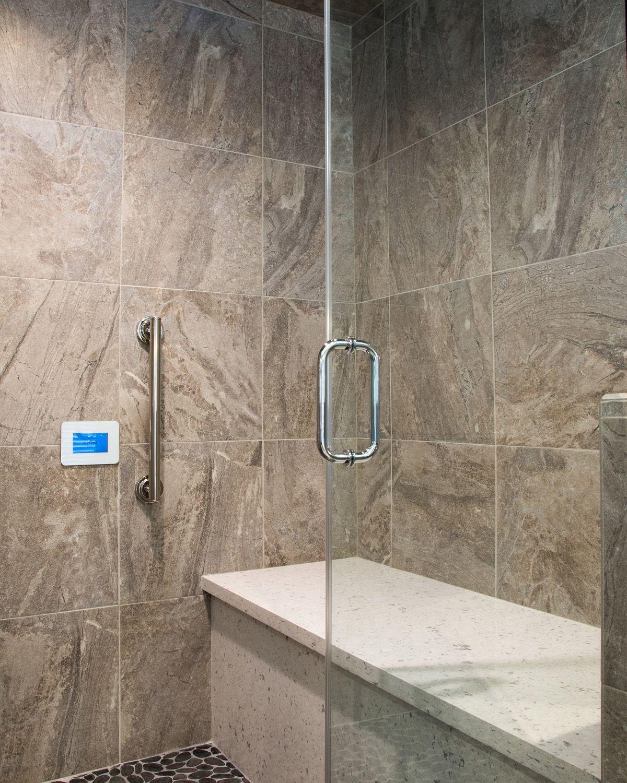 Quartz Shower Bench