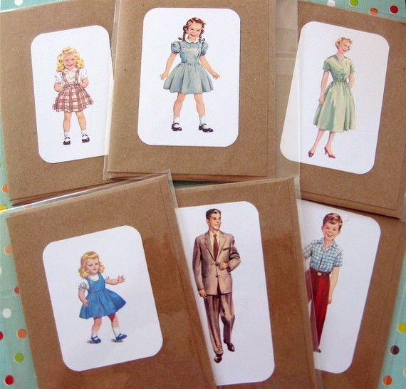 Dick and jane flashcard