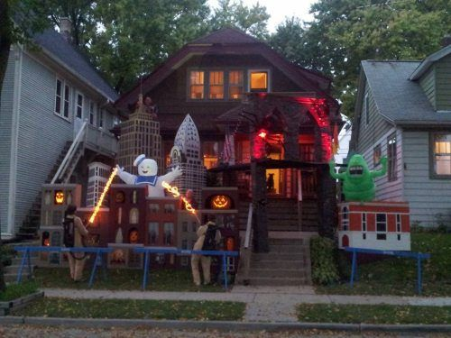 Ghostbusters House Build A Haunt Halloween House