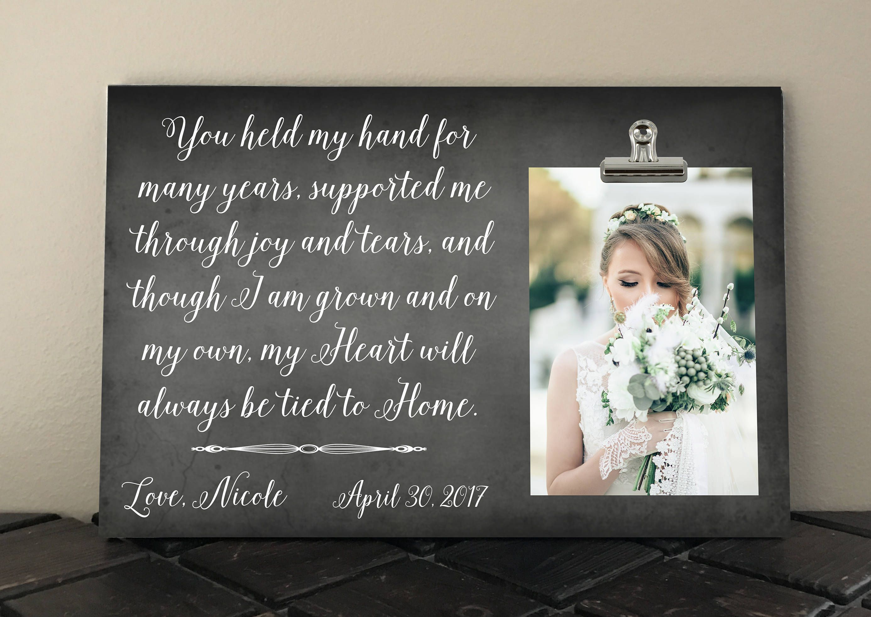 Wedding Gifts For Pas Gift Ultimate Handmade Picture Frames Personalized Stuff Free Design Bride