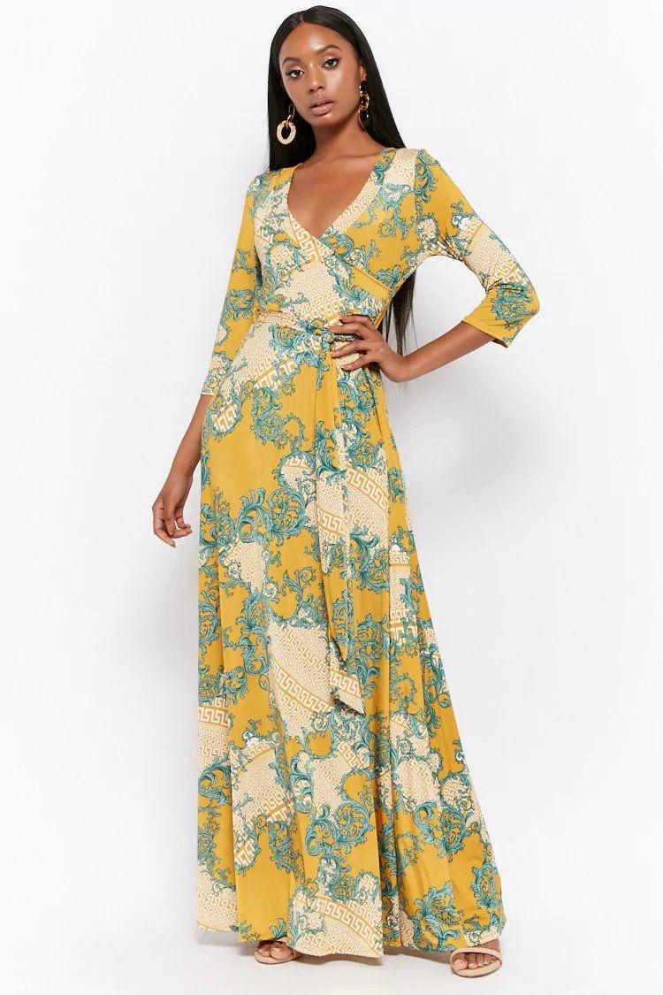 Product Name Brocade Print Maxi Dress Category Dress Price 38 Dresses Printed Maxi Dress Dress Accessories
