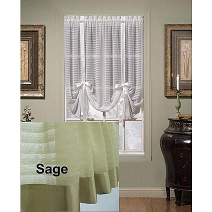 Today S Curtain Silhouette 63 Quot Tie Up Shade Tie Up