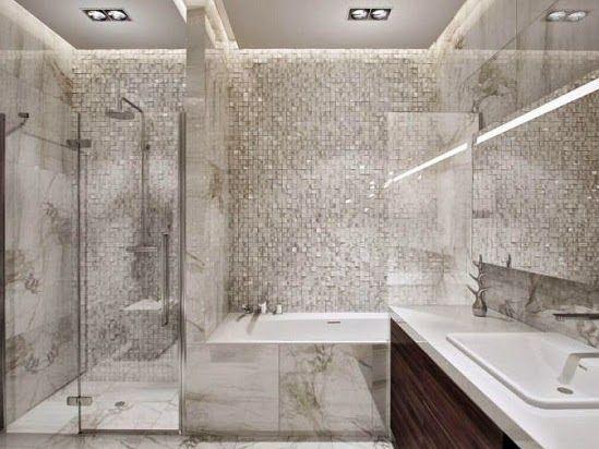 Tips Memilih Keramik Kamar Mandi Minimalis Modern Renovasi Kamar Mandi Interior Kamar Mandi Desain Apartemen