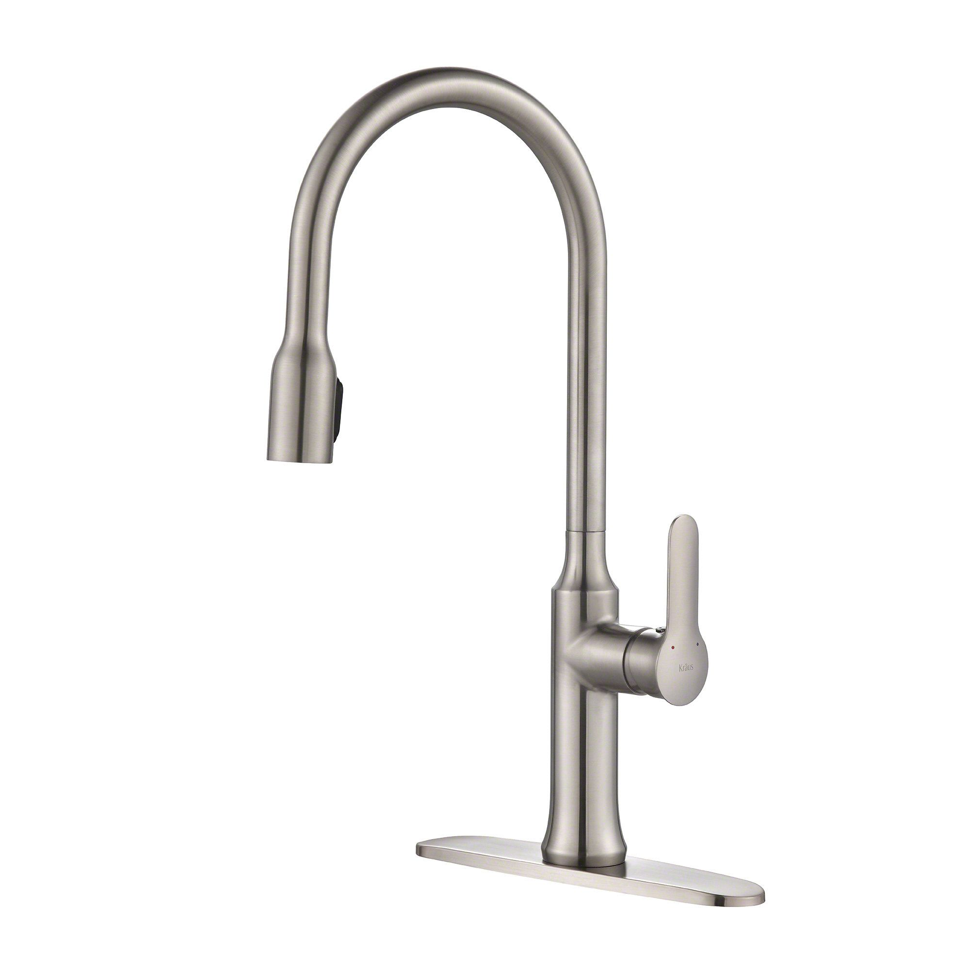 nola single lever concealed pull down kitchen faucet products rh pinterest nz