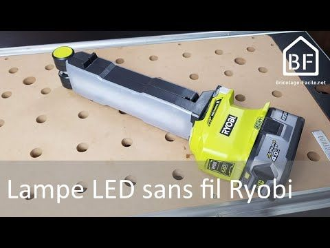 Outillage Lampe Led One De Ryobi Bricolage Facile