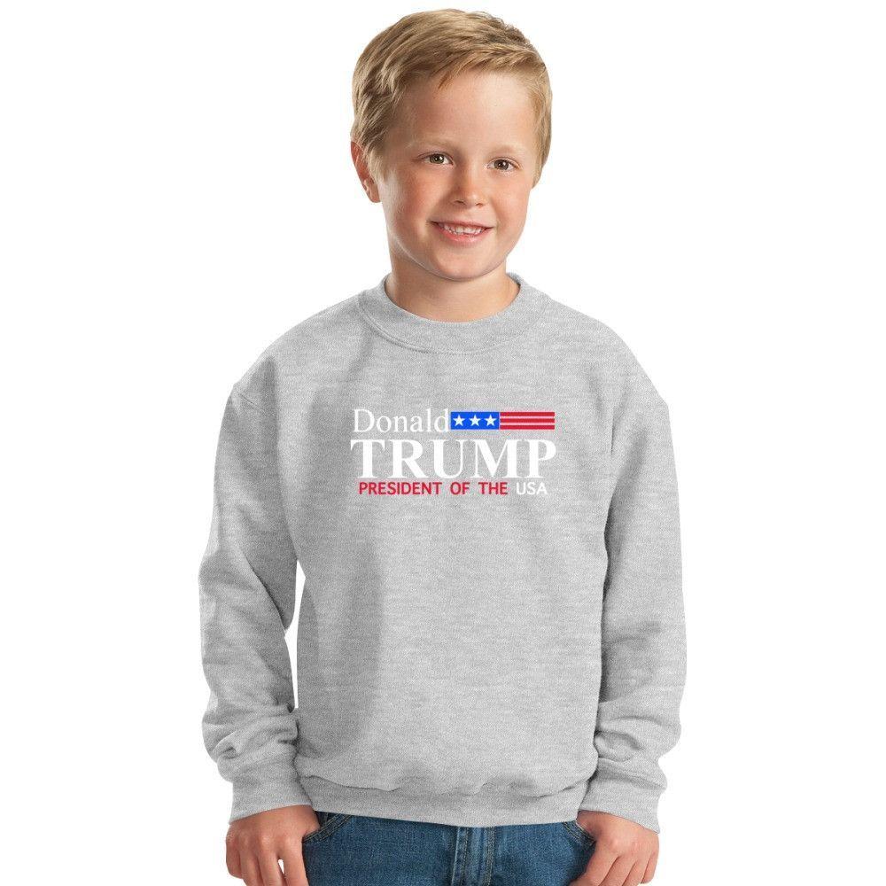 Donald Trump - President Of The Usa Kids Sweatshirt