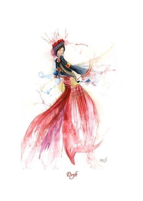 Gouache by Inner Swirl