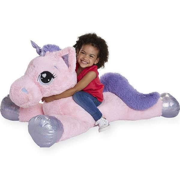 Unicorn Teddy Bear Toys R Us, Toys R Us Animal Alley 45 Inch Jumbo Stuffed Unicorn Pink Unicorn Toys Giant Stuffed Animals Unicorn Plush