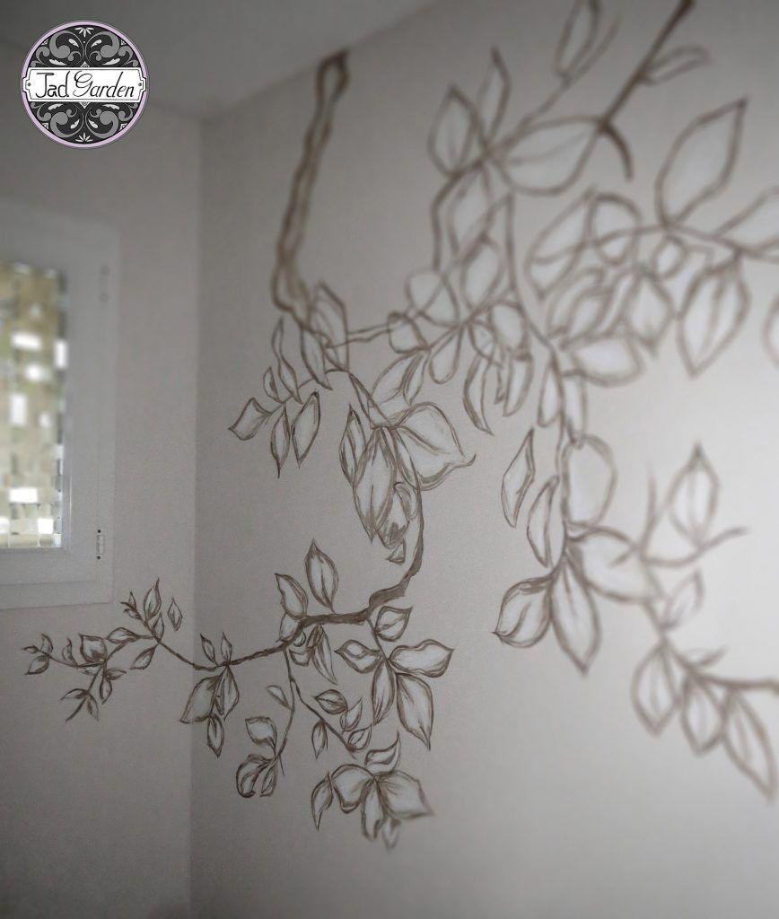 Peinture Sur Mur Dessin Avec Fresques Jadgarden Cr Ation