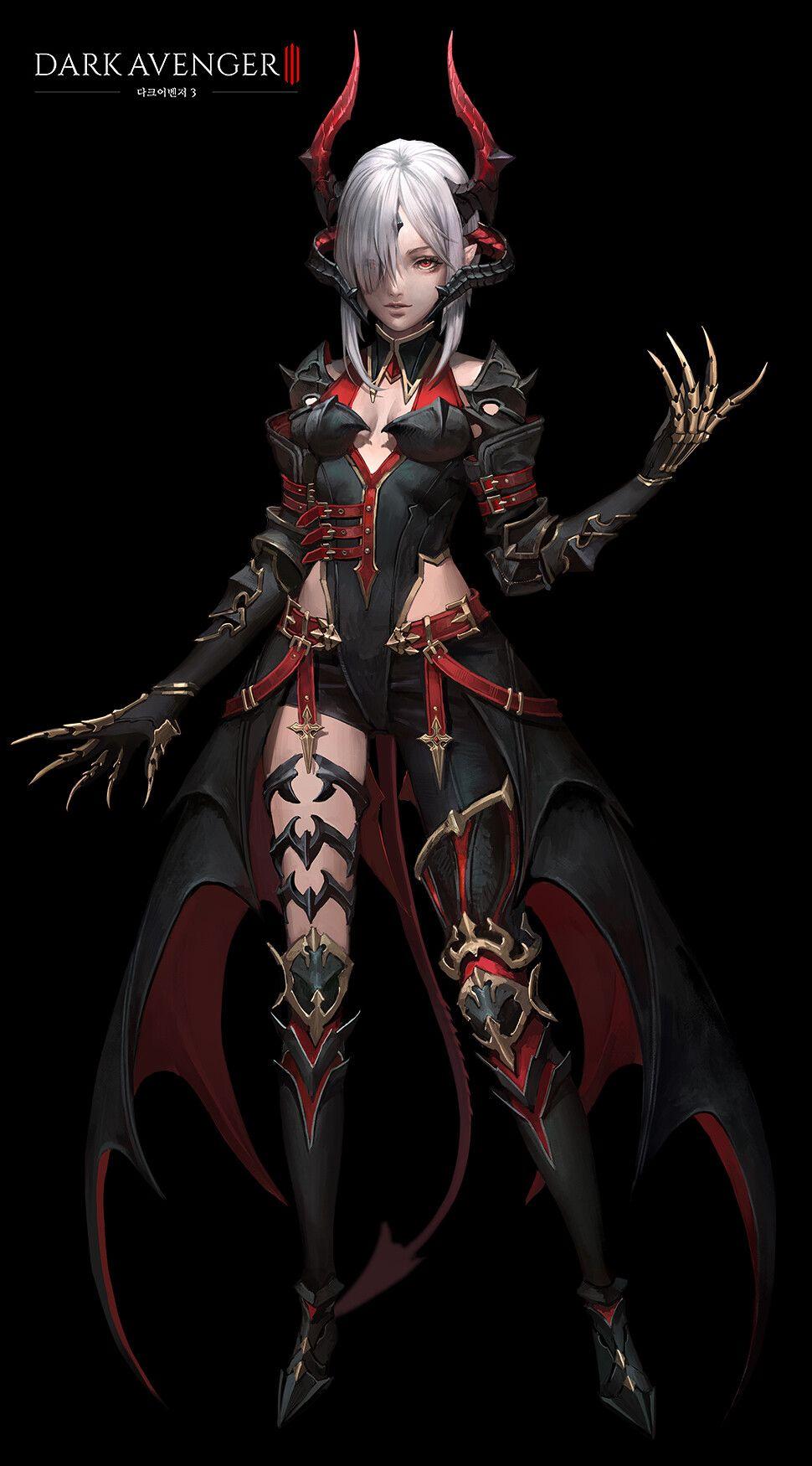 Artstation Drak Avenger 3 Darkness Rises Character Design