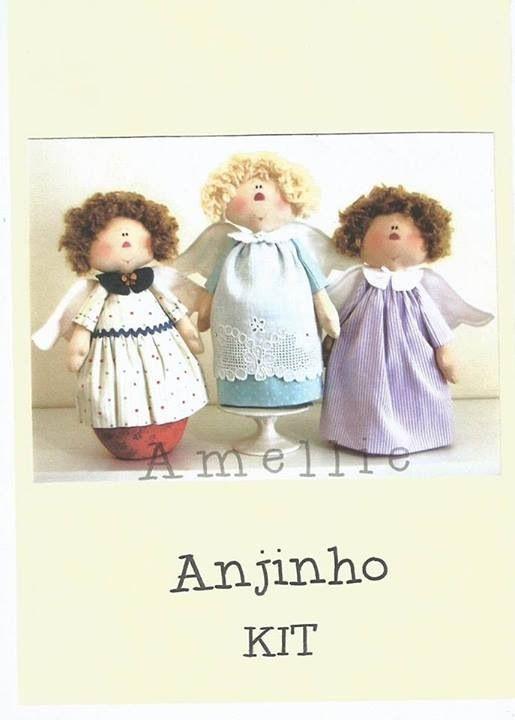 trio anjos 1 foto