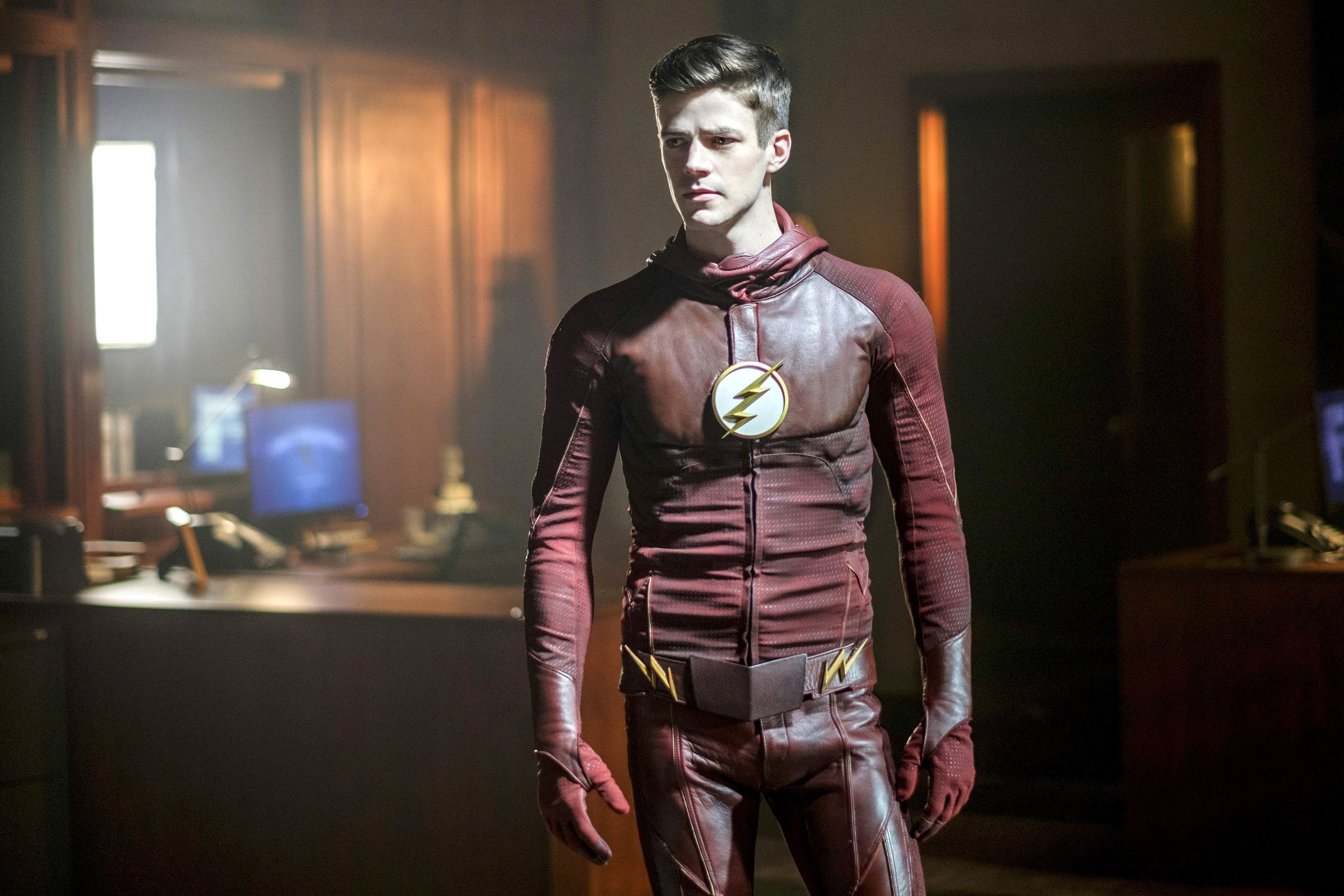 The Flash CW Images Barry Allen Unmasked Wallpaper And