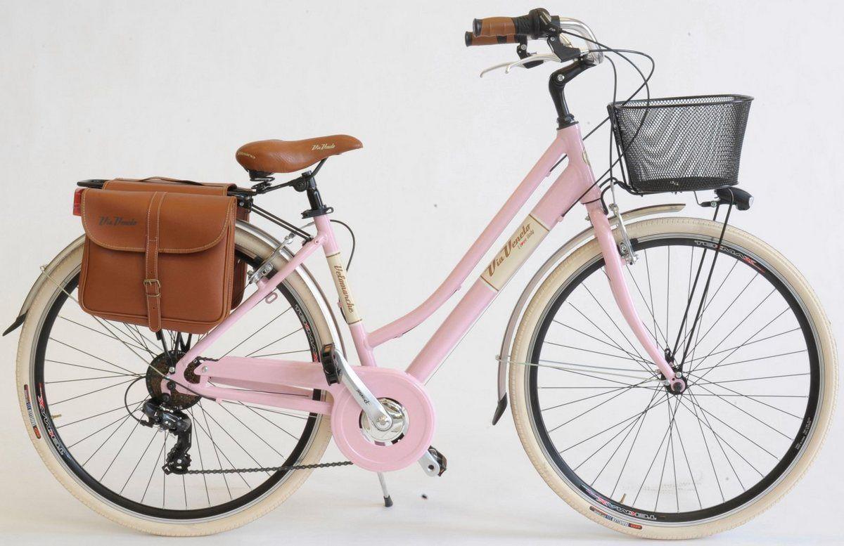 Cityrad Citybike 605 Alu Lady 6 Gang Kettenschaltung Laufrad Fahrradkorb Und Fahrrad