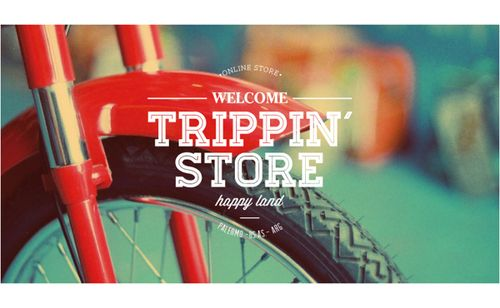 Trippin´ Store via betype.co #typography