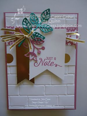 handmade by Julia Quinn - Independent Stampin' Up! Demonstrator: Stampin' Up! Christmas inspiration CTC#82