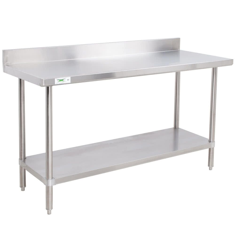 Regency 24 X 48 16 Gauge Stainless Steel Commercial Work Table With 4