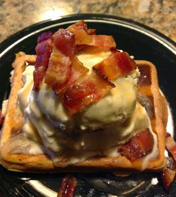 Cooking with Carlee: Maple Bacon Ice Cream - A Guest Post by MiMi #FoodieExtravaganza