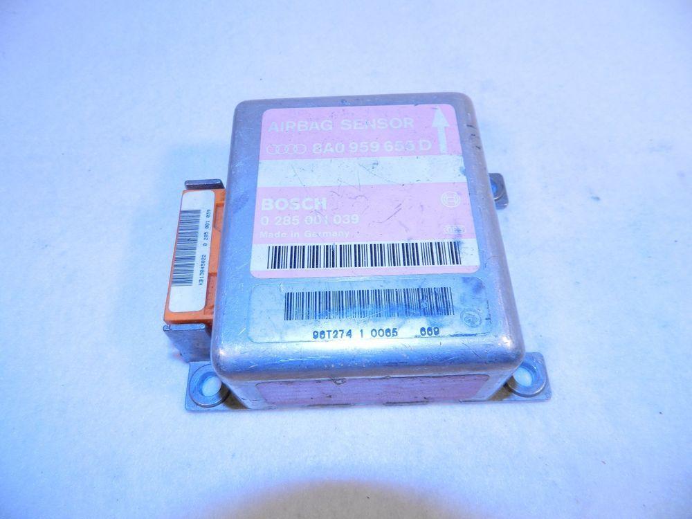 96 97 Audi A4 Airbag Control Module 8a0 959 655 D Bosch Audi A4 Audi Ebay