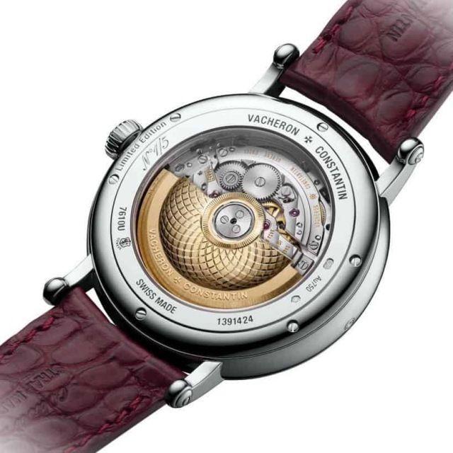 5f975793945 ... Alta Relojoaria de WEB LUXO. Coleção Vacheron Constantin Métiers d Art  Les Aérostiers