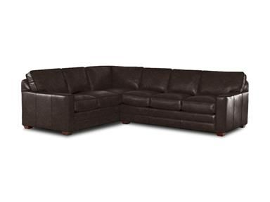 Shop for Klaussner Pantego Lthr Sectional LTD51400-LTH-SECT and other Living  sc 1 st  Pinterest : shop sectionals - Sectionals, Sofas & Couches