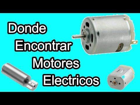 Donde se usan los motores eléctricos