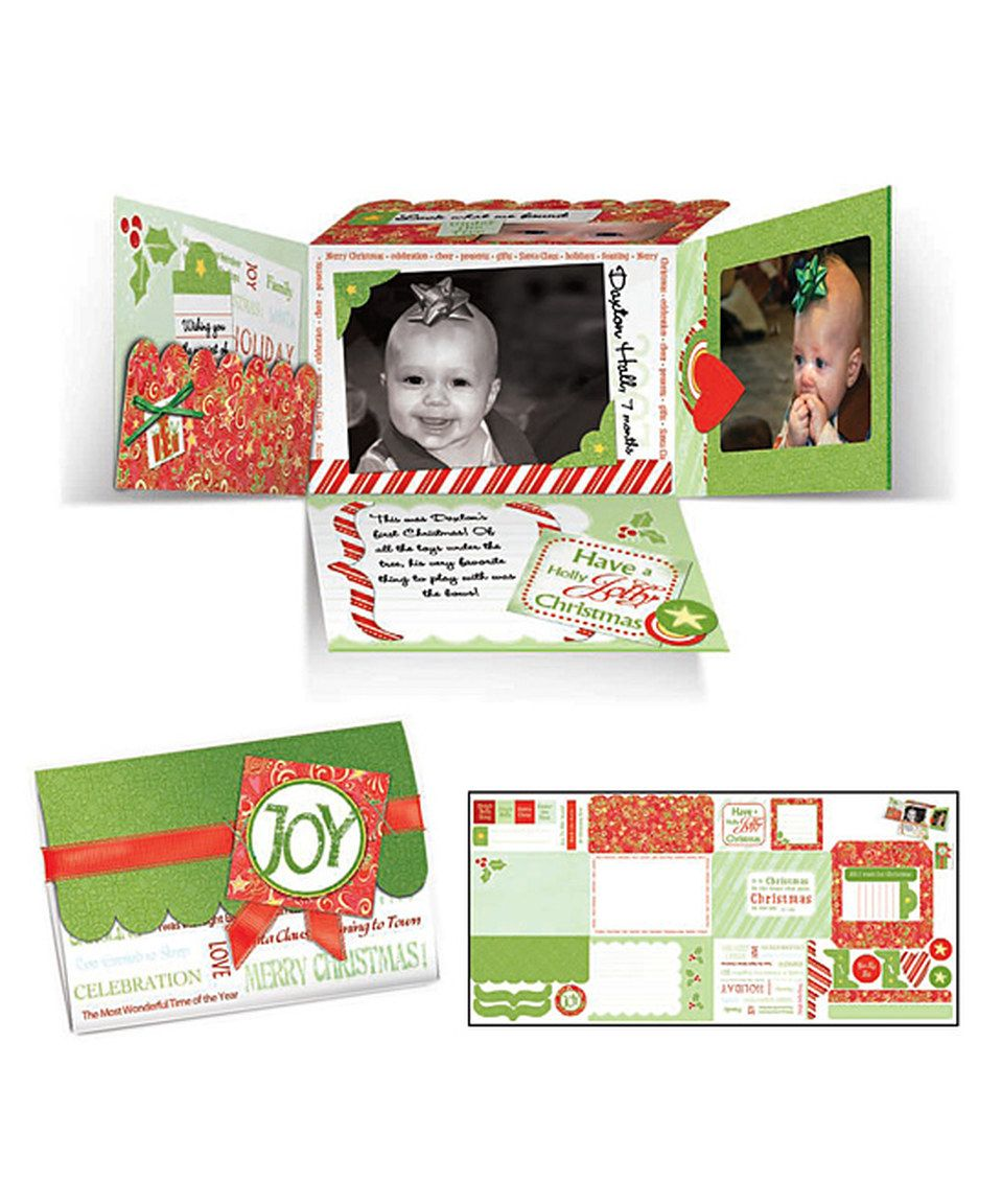 Another great find on #zulily! Christmas Time Mini Album Set by ADORNit #zulilyfinds