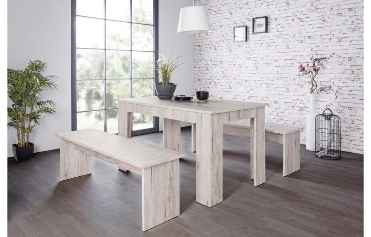 Tischgruppe Munchen Sorrento Eiche Nb 140 Bei Poco De Mit Bildern Tischgruppe Grosser Esstisch Moderne Schlafzimmermobel