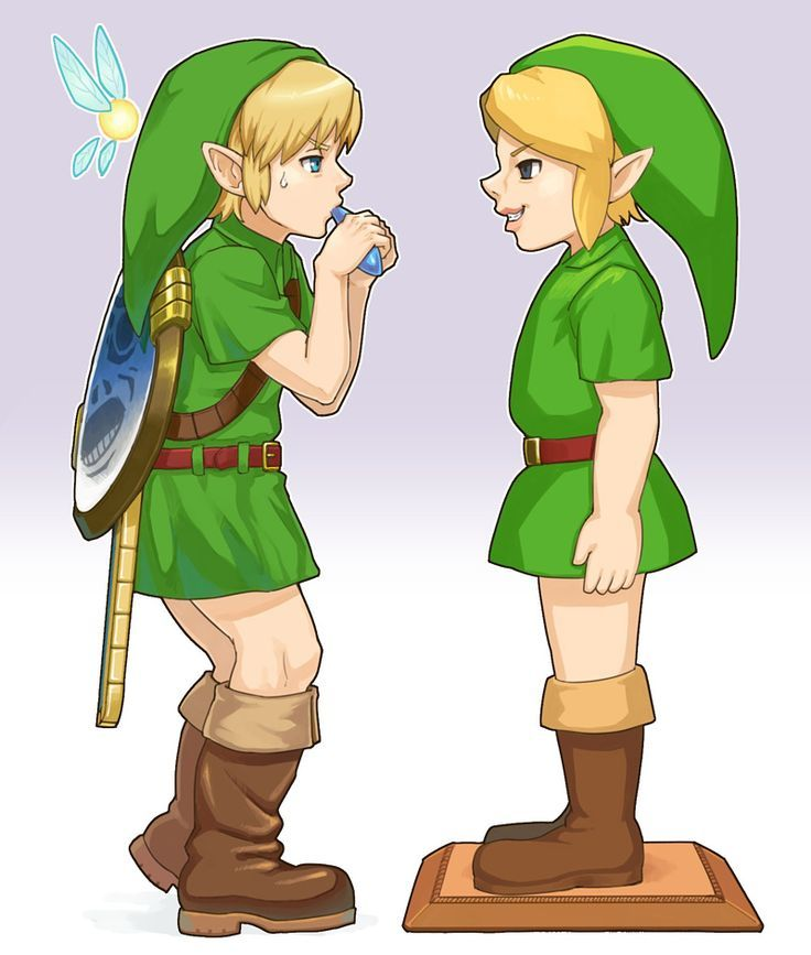 Link And The Mysterious Statue Link Ben Drowned Legend Of Zelda