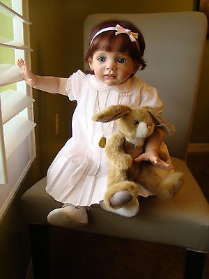 REBORN FRIDOLIN BY KAROLA WEGERICH TODDLER BABY GIRL LIMITED EDITION SOLD OUT!