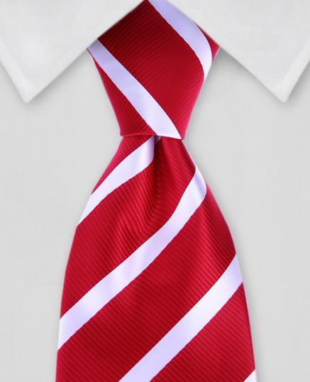 Lord R Colton Collegiate Stripe Tie $95 Retail New Navy /& Red Necktie