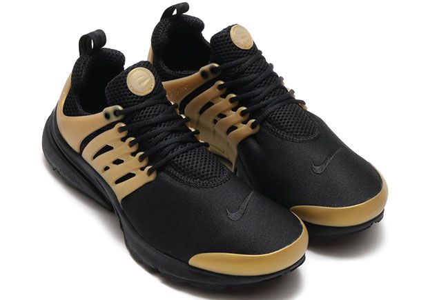 a1676c32dd63 Nike Presto Air Max 90 Black Gold Pack