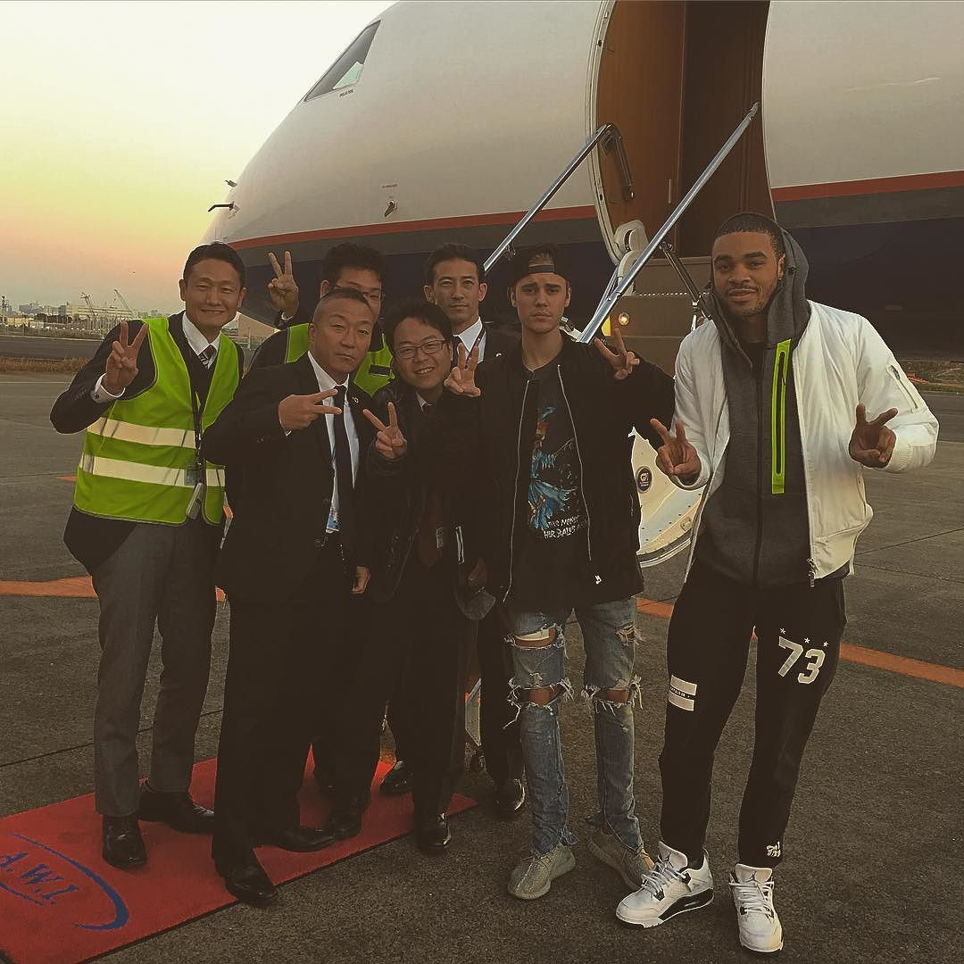 Back in Asia by justinbieber