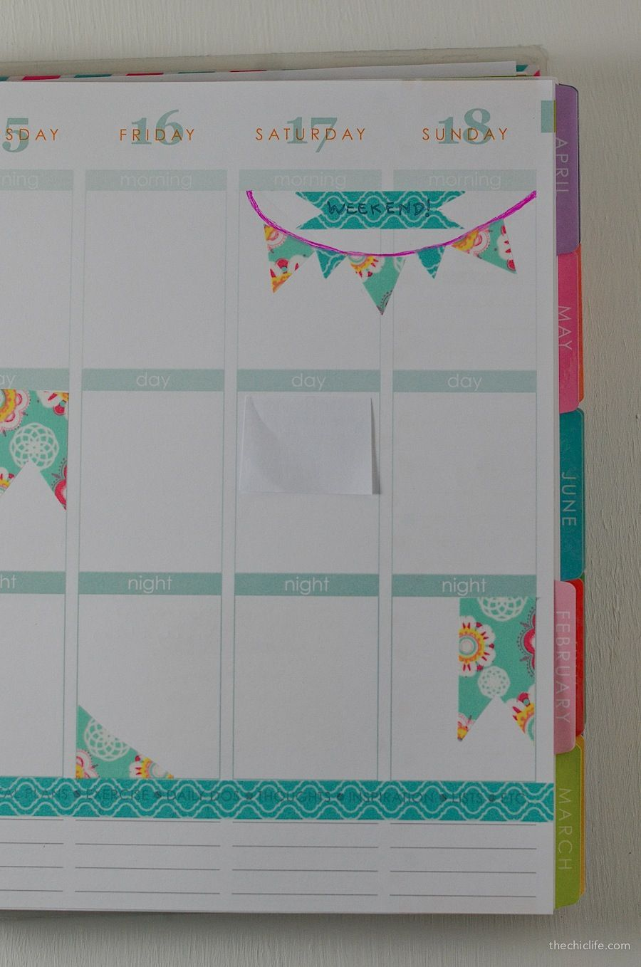 How To Decorate Your Planner With Washi Tape Washi Tape