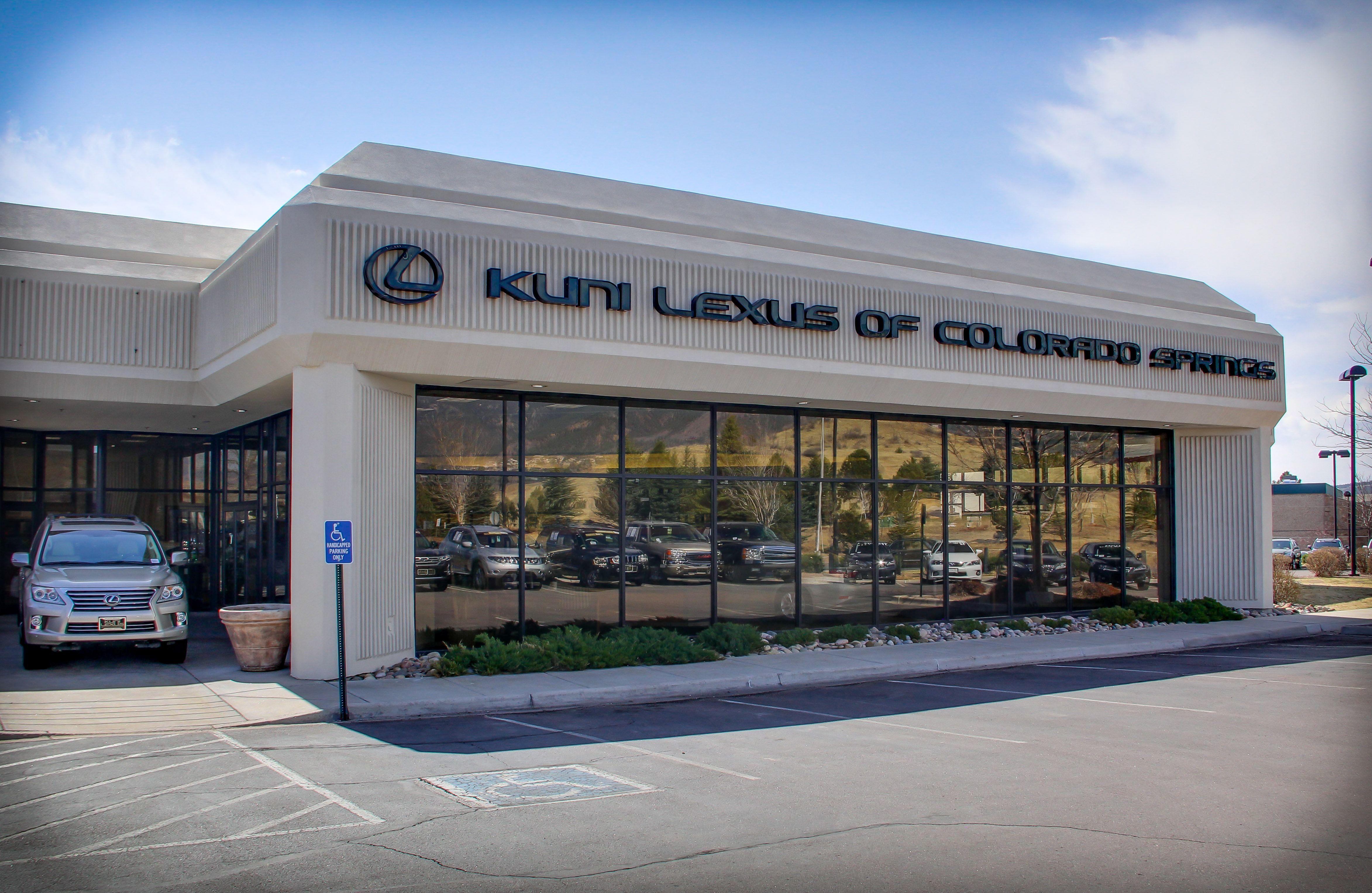 Car Dealerships Colorado Springs >> Kuni Lexus Of Colorado Springs Dealership Facade Our
