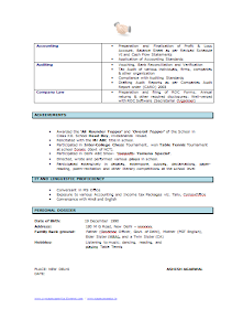 Over 10000 CV And Resume Samples With Free Download Template Good Resumes ResumeExamplesFree