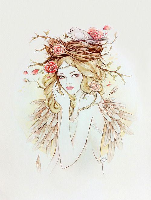 Lady Glamming: Ilustração: Soleil Ignacio