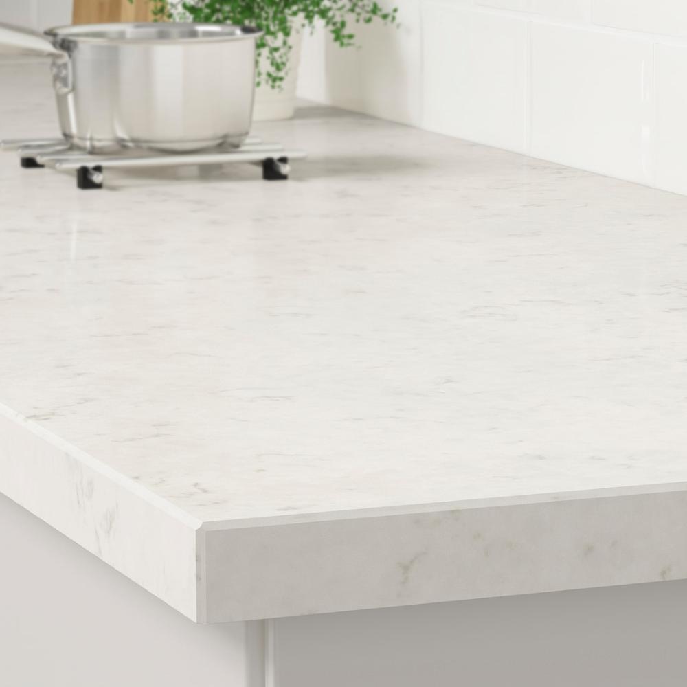 White Marble Kitchen Ikea