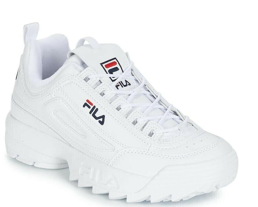 FILA Womens Disruptor II 2 Sneakers Casual Athletic Running