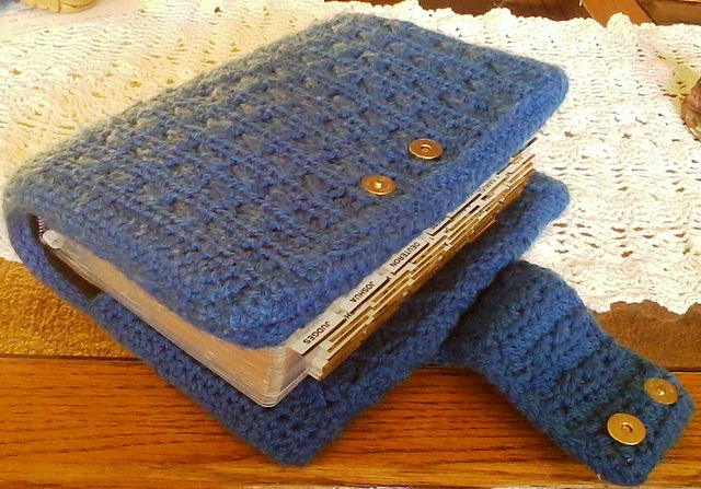 Crochet Book Cover Pattern Free : One of the prettiest crocheted bible covers i ve found