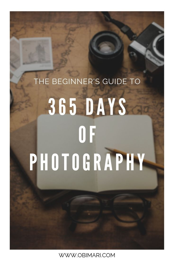 The Beginner's Guide to 365 Days of Photography   Mari Obi