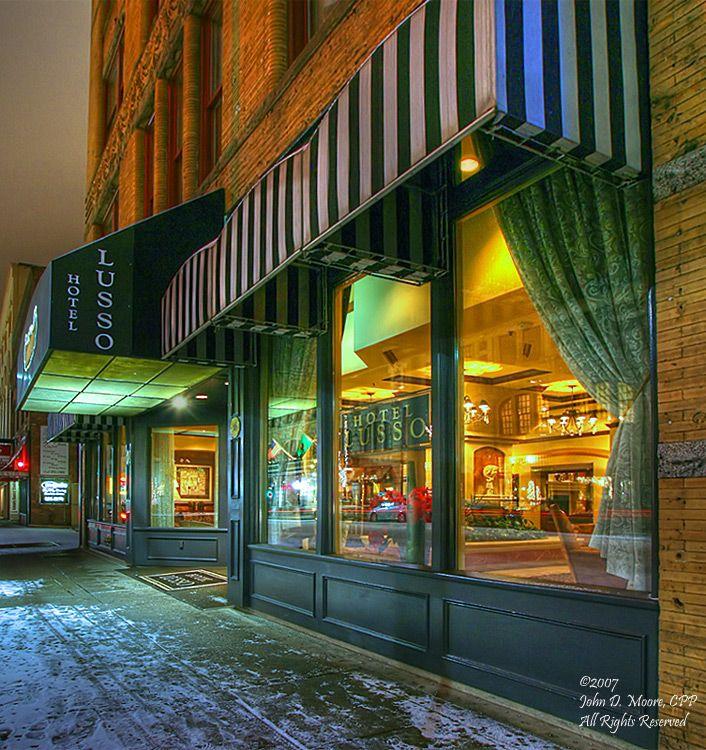 The Hotel Lusso One North Post Spokane Washington Spokane Davenport Hotel Hotel