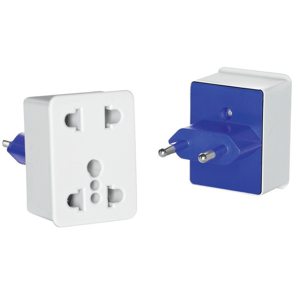 TRAVEL SMART BY CONAIR NWD1 DualOutlet Adapter Plug for