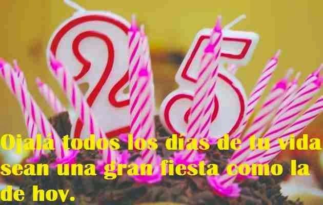 Felicitaciones Por Tus 25 Años Felicitaciones Frases De