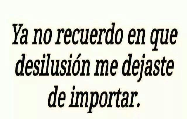 #desilusion #desamor #amor