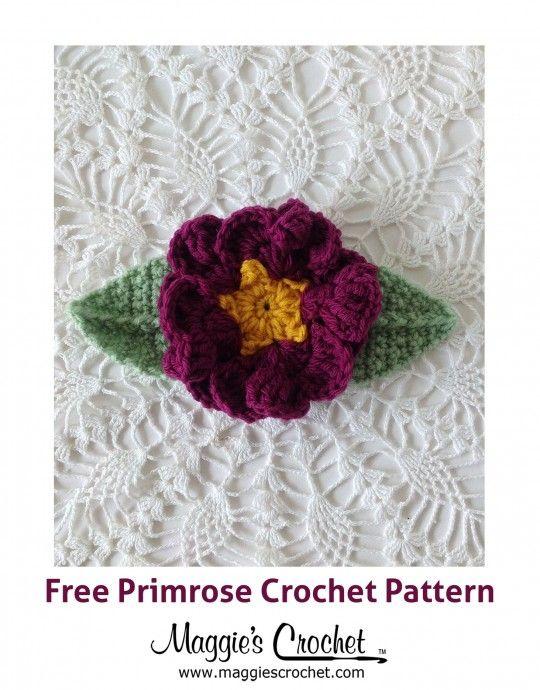 Crochet Flowers : Maggie\'s Crochet Blog   flores crochet   Pinterest ...