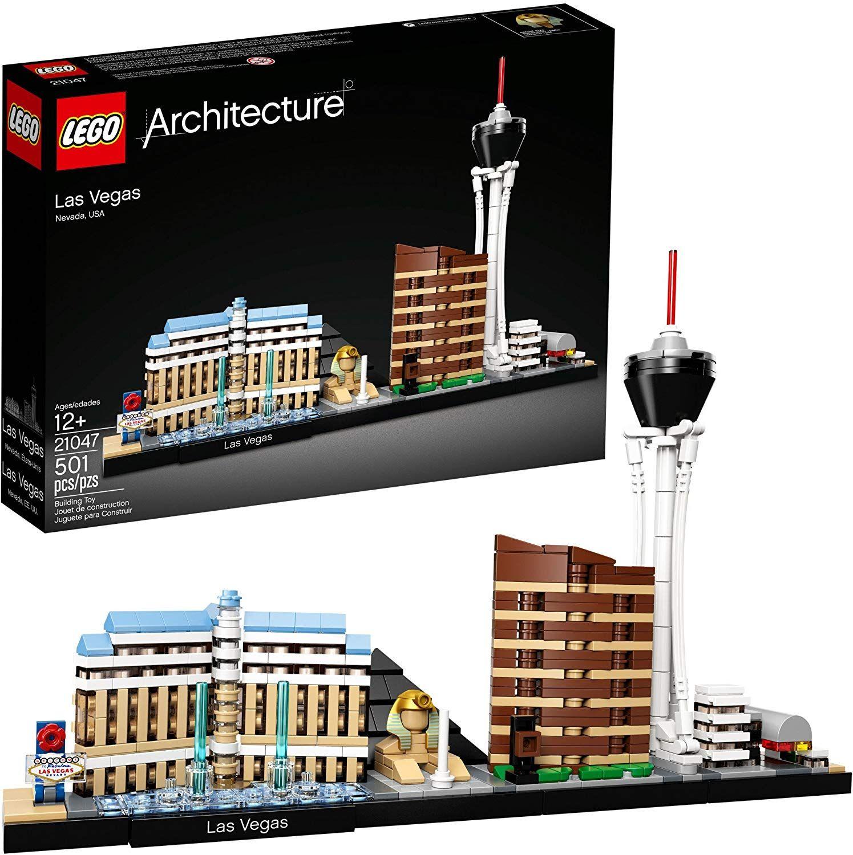 Amazonsmile Lego Architecture Las Vegas 21047 Multi Toys Games Lego Architecture Las Vegas Lego